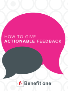 E-Book: How to Give Actionable Feedback