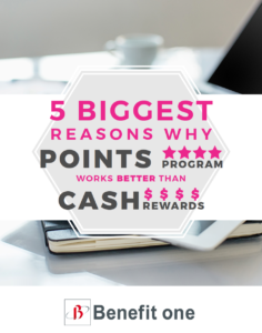Cash rewards vs. Points program