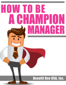 How to be a champion manager